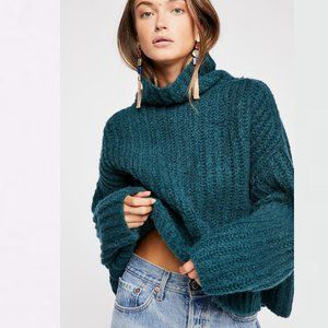 Free People Knit Pullover Sweater Sz M